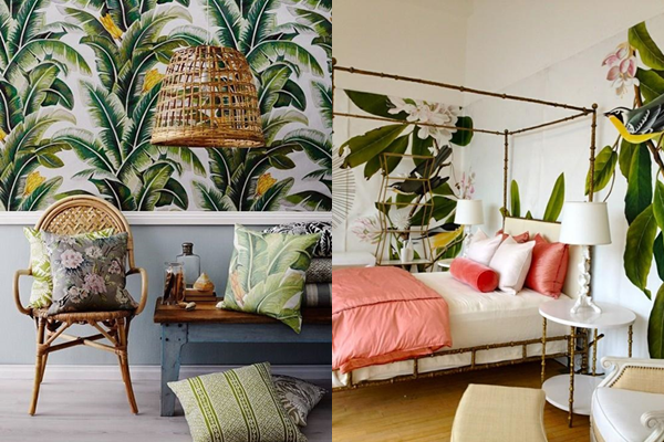 inspiration d co int rieur ambiance tropical. Black Bedroom Furniture Sets. Home Design Ideas