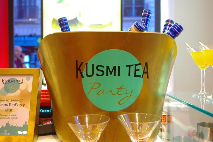kusmi tea party nantes