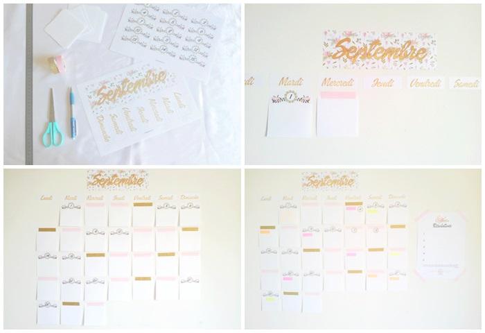 conseils-pour-organiser-sa-rentrée-calendrier-mural-diy