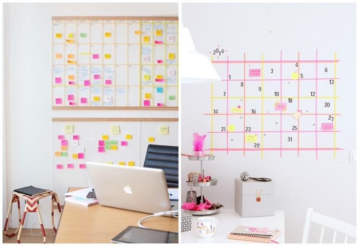 conseils-pour-organiser-sa-rentrée-calendrier-mural