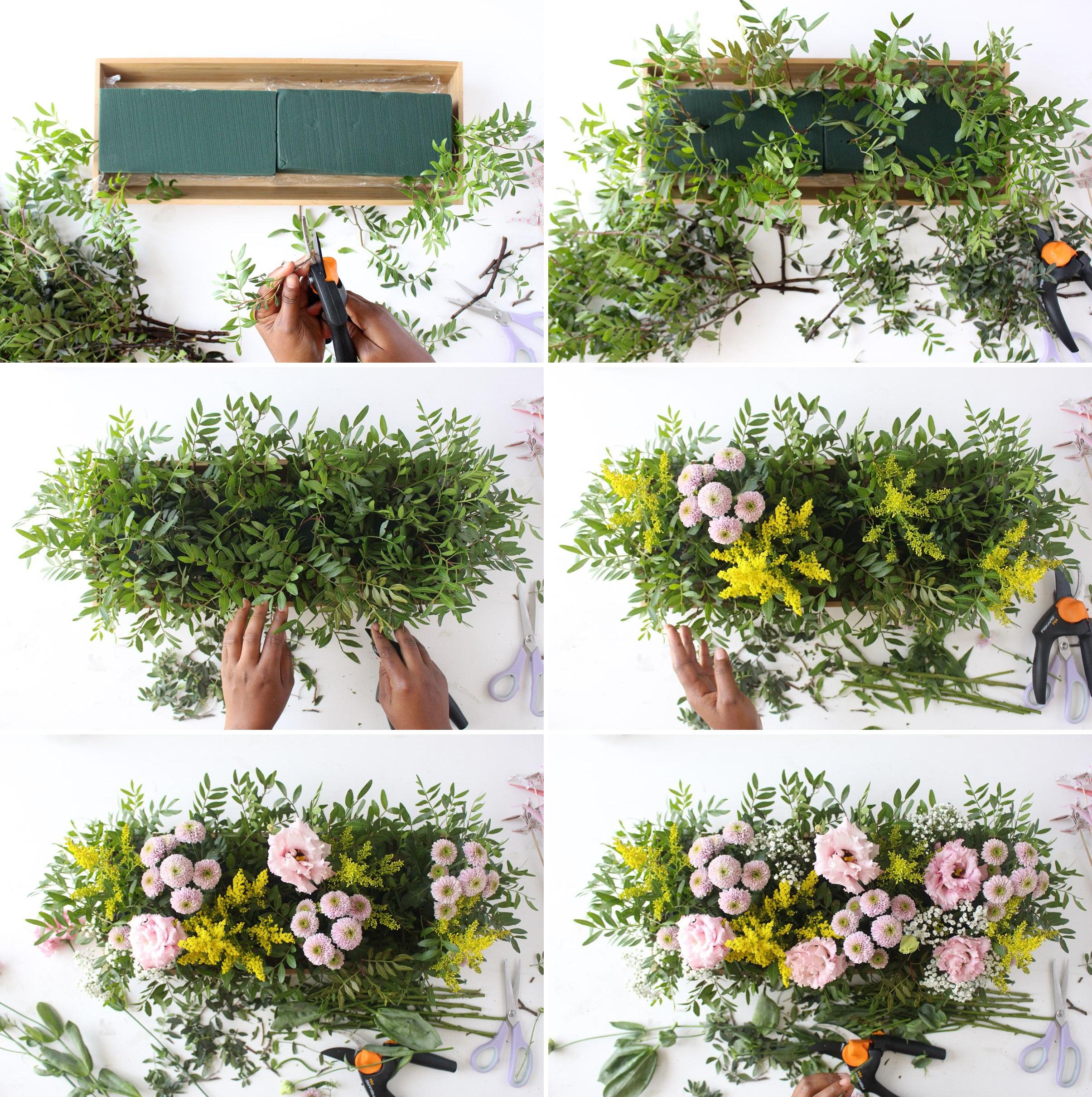 Comment Faire Un Centre De Table Avec Des Fleurs diy centre de table origamis fleuri