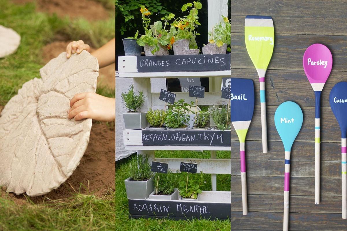 tendancescr atives d corer son jardin. Black Bedroom Furniture Sets. Home Design Ideas