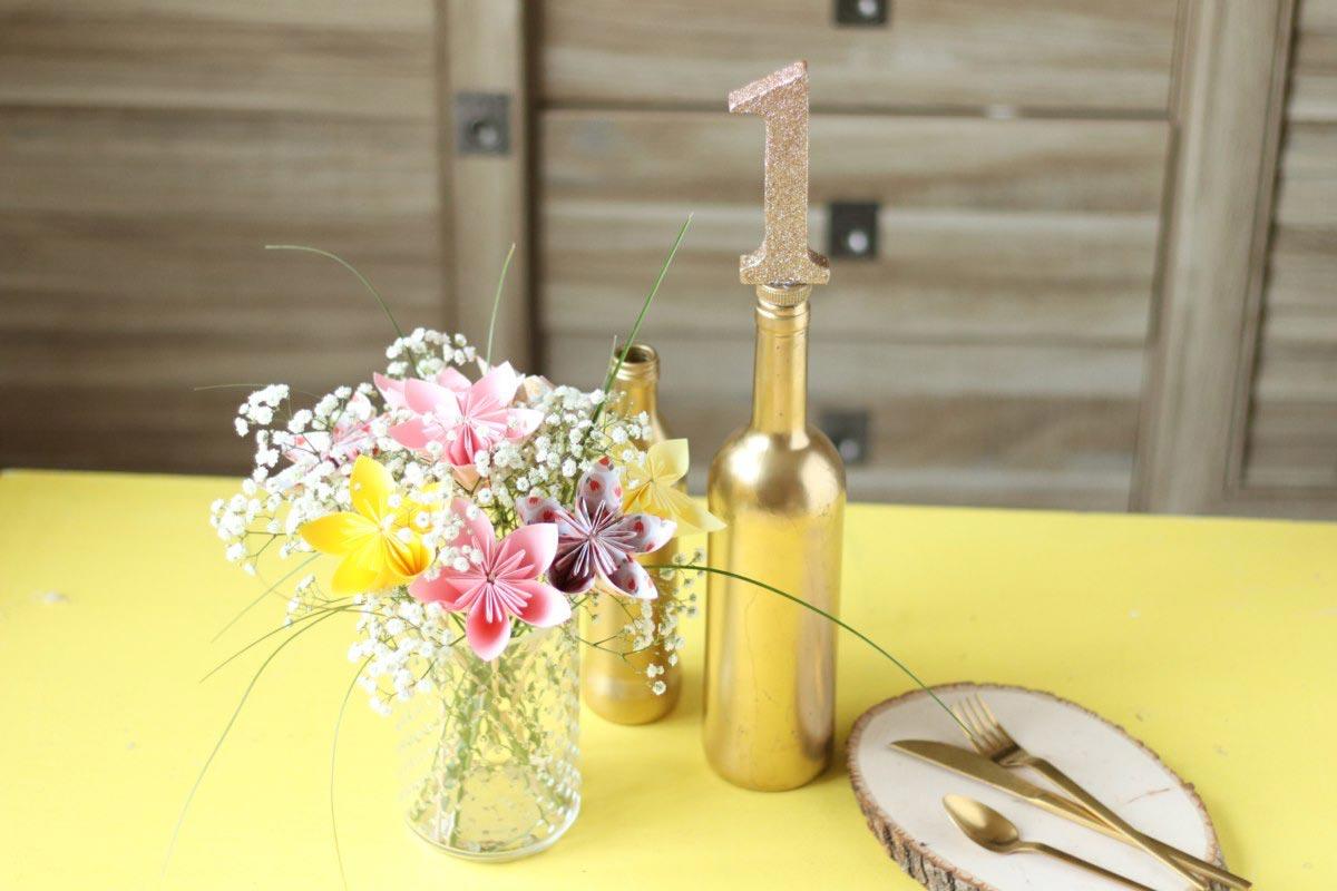 diy mariage numeros table 2 mymy cracra. Black Bedroom Furniture Sets. Home Design Ideas