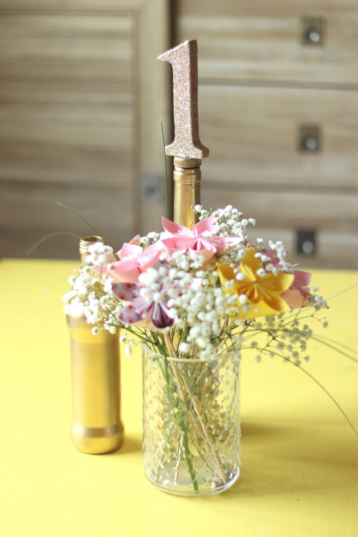 diy mariage bouchon num ro de table. Black Bedroom Furniture Sets. Home Design Ideas